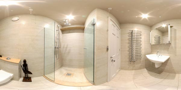 Ruislip Shower Room Panorama